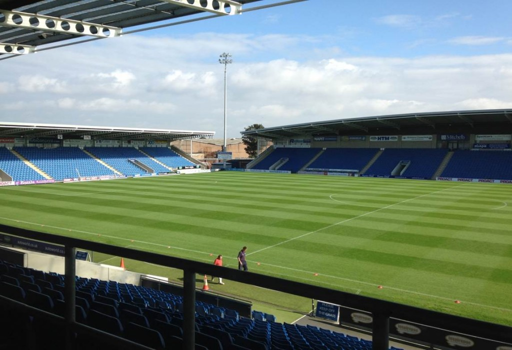 the best location is chosen at Chesterfield FC